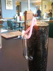 Root beer and treacherous bendy straw
