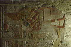 Abydos relief 162 (carlosacao) Tags: december egypt egyptian temples 2008 abydos
