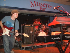 Love in October at the Musette (dereck von) Tags: music bands omaha