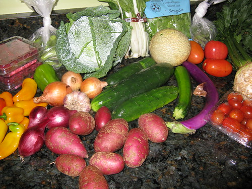 What's in CSA box #10