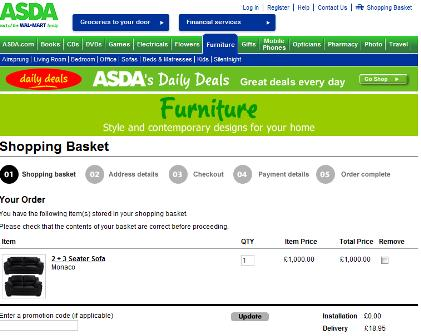Asda checkout