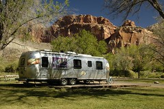 Camped at Capitol Reef (Airstream Life) Tags: capitolreef redrock canyons airstreamutah
