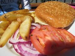 1/2 pound burger