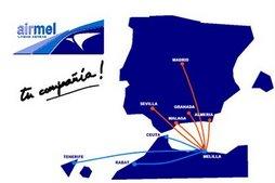 destinos AIRMEL