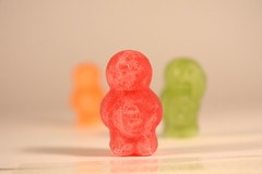 Jelly Baby Test Shots
