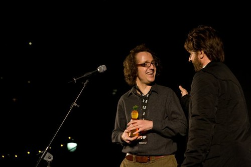 Winning Best Actor at Tropfest NY 2008