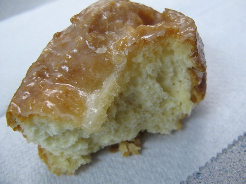 Glazed Buttermilk Bar from Mary's Donuts