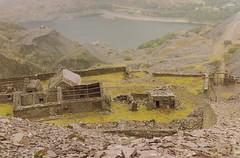 Dinorwic Slate Quarry 1992 (trainsandstuff) Tags: wales railway slate llanberis quarry narrowgauge dinorwic quarries