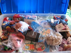 Treasure!! (cre808) Tags: toys happy treasure chest memories mcdonalds meal chidhood
