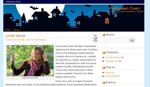 theme-wordpress-halloween-town