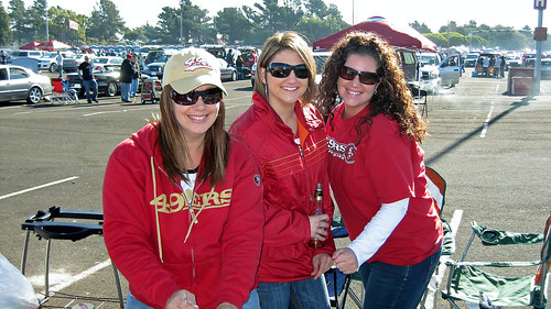 49er Game- Billera Girls & Cuz