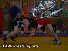 Setting up a front headlock