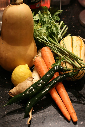 Squash Soup Ingredients