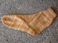 Sunny Sky Sock