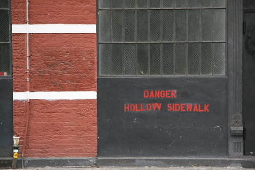 Danger Hollow Sidewalk by you.