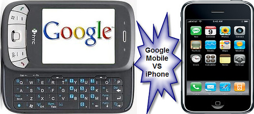 iPhone VS Google Mobile