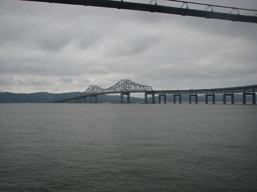 Tappan Zee Bridge as seen from the Metro North train