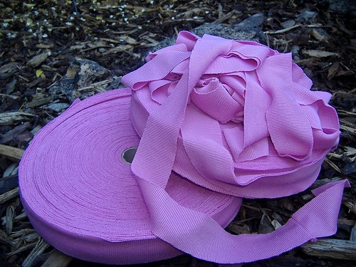 pink ribbing