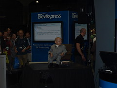 Verne Troyer at PDC 2008