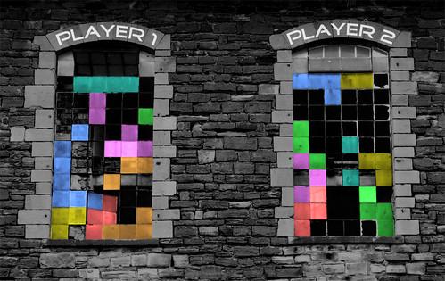 Tên gọi của trò chơi xếp hình Tetris được xuất phát từ đâu?