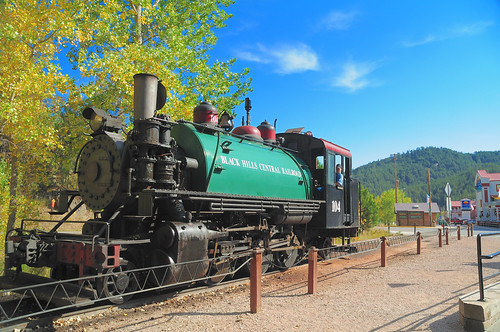 Keystone, SD - steam locomotive