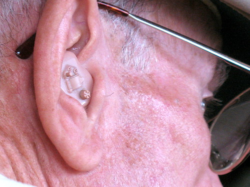 hearing aid close-up by Photos by Mavis.