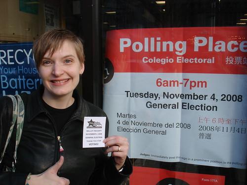 Erica Voted