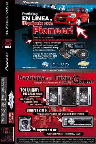 Pioneer te convierte en Dj junto con +Mas Label