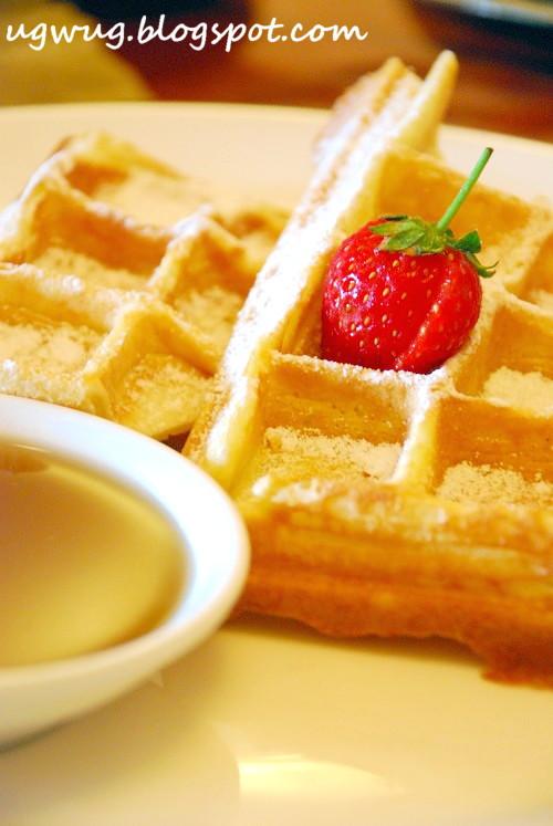 Waffle Breakfast in Hyatt Jakarta