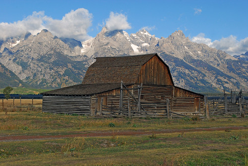 Mormon Row, Grand Teton National Park - 1102b