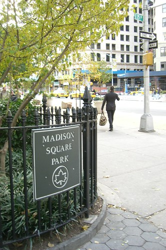 mad at madison sq. park