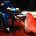 Tachikoma with fake sushi