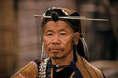 India - Arunachal Pradesh - Apatani man (RURO photography) Tags: travel
