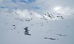Lehenengo elurtea (flickibai) Tags: winter mountain snow nieve invierno monte montaa portalet pirineo mendi pyrenee negu elur glere aneu arroyeras