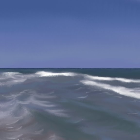 seascape phase 3 - creating contrast