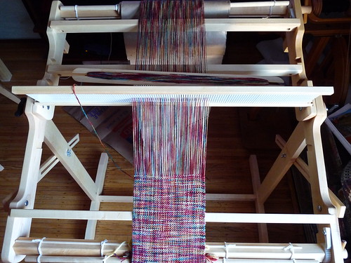 sock prØn : Rigid heddle weaving on a Schacht Flip the