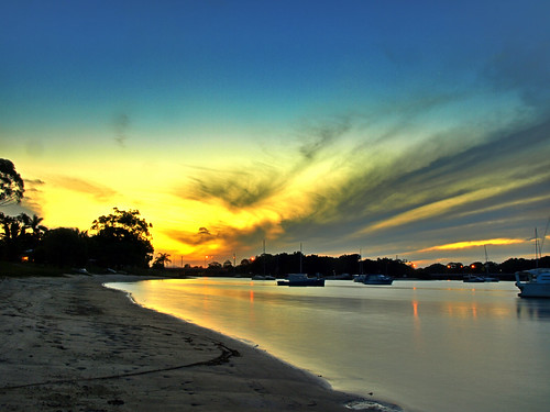 Mooloolah River Sunset 2 by you.