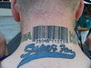 Big Lo Barcode Tattoo Picture used in