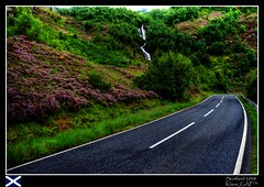 My trip to Scotland (20/20): Route around Loch Leven (Klaus_GAP™ - taking a timeout) Tags: road wallpaper holiday green geotagged scotland waterfall purple scenic soe hdr hdri lochleven westernhighlands photomatix abigfave platinumphoto anawesomeshot theunforgettablepictures overtheexcellence