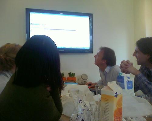 Edward laat ons www.reeleeze.nl zien by you.