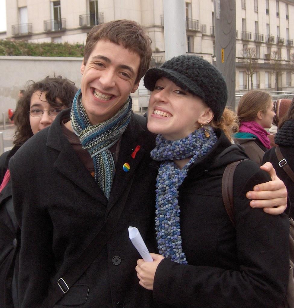 Manifestation contre les réformes Darcos/Pécresse, Tours, 20 novembre 2008