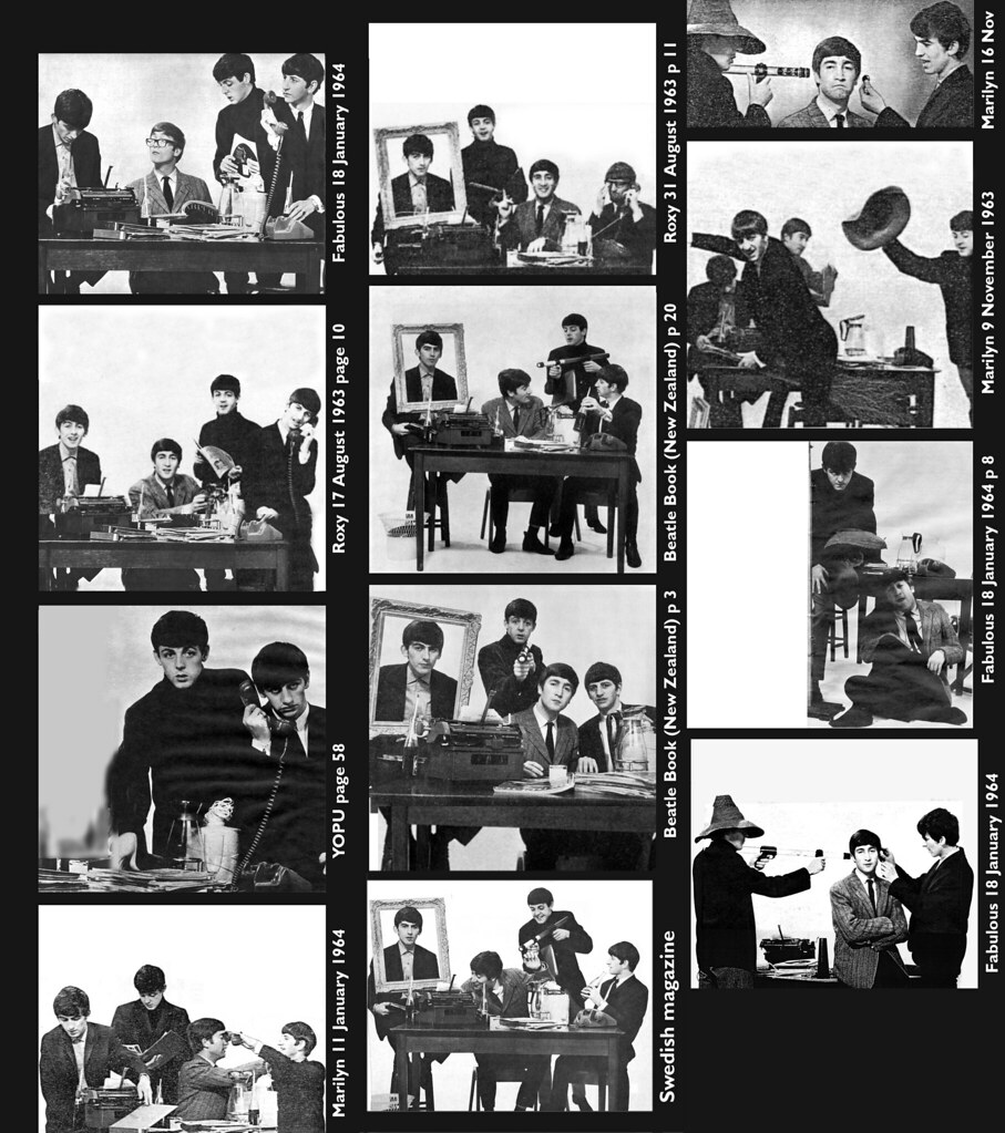 Beatles at Fleetway House (1963)
