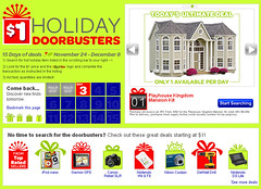 Find $1 items in Ebay's Holiday Doorbuster Deals! More on www.WhatsTheDIFF.com