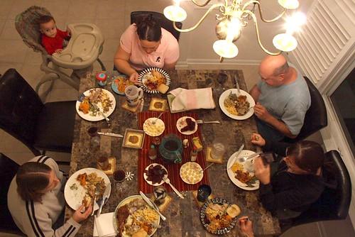 thanksgiving eating