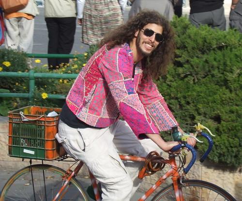 Hippie Cyclist