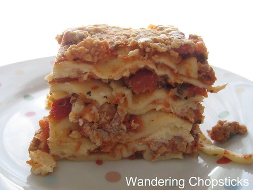 Lasagna with Meat Sauce 16