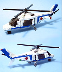 helicopter final (psiaki) Tags: park lego helicopter augusta jurassic moc a109