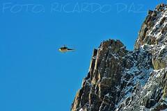 HELI (ricardodiaz) Tags: alpes nieve alpinismo chamonix glaciar hielo picos montañas volar