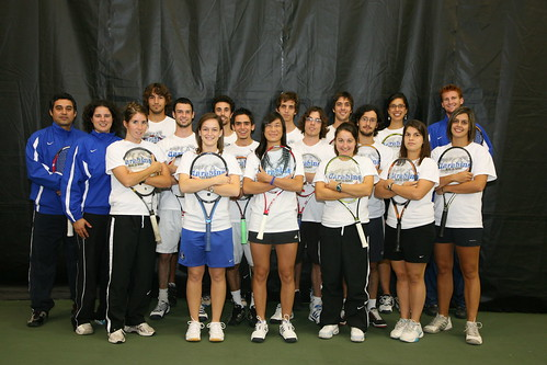 Université de Montréal Carabins tennis team 2008-2009