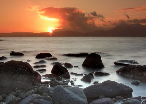 Arran sunset 09dec08